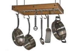 J.K. Adams Cherry Ceiling Pot Rack