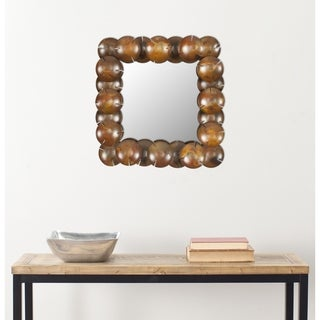 Safavieh Handmade Arts and Crafts Coconut Wall Mirror