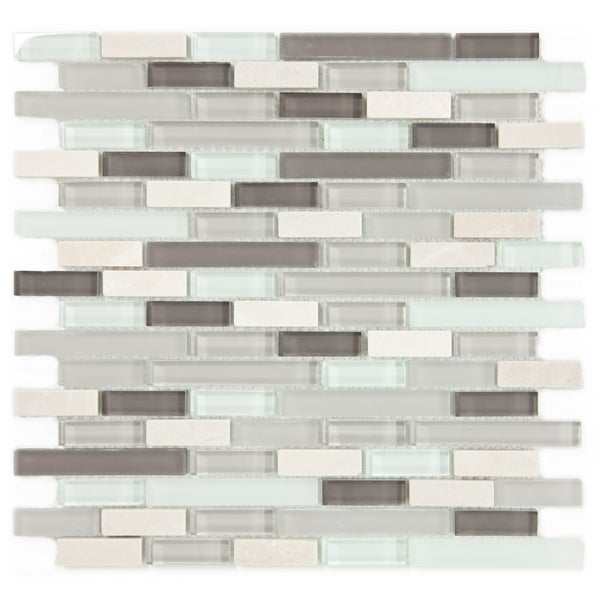 ICL H-135 Glass and Stone Mix Tiles (Case of 11)
