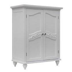 Yvette 2 Door Floor Cabinet