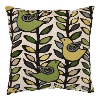 'Trixie' Green/ Black Floor Pillow