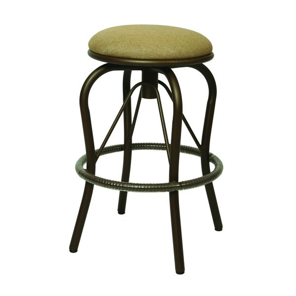 Bushnell 30-inch Backless Outdoor Bar Stool