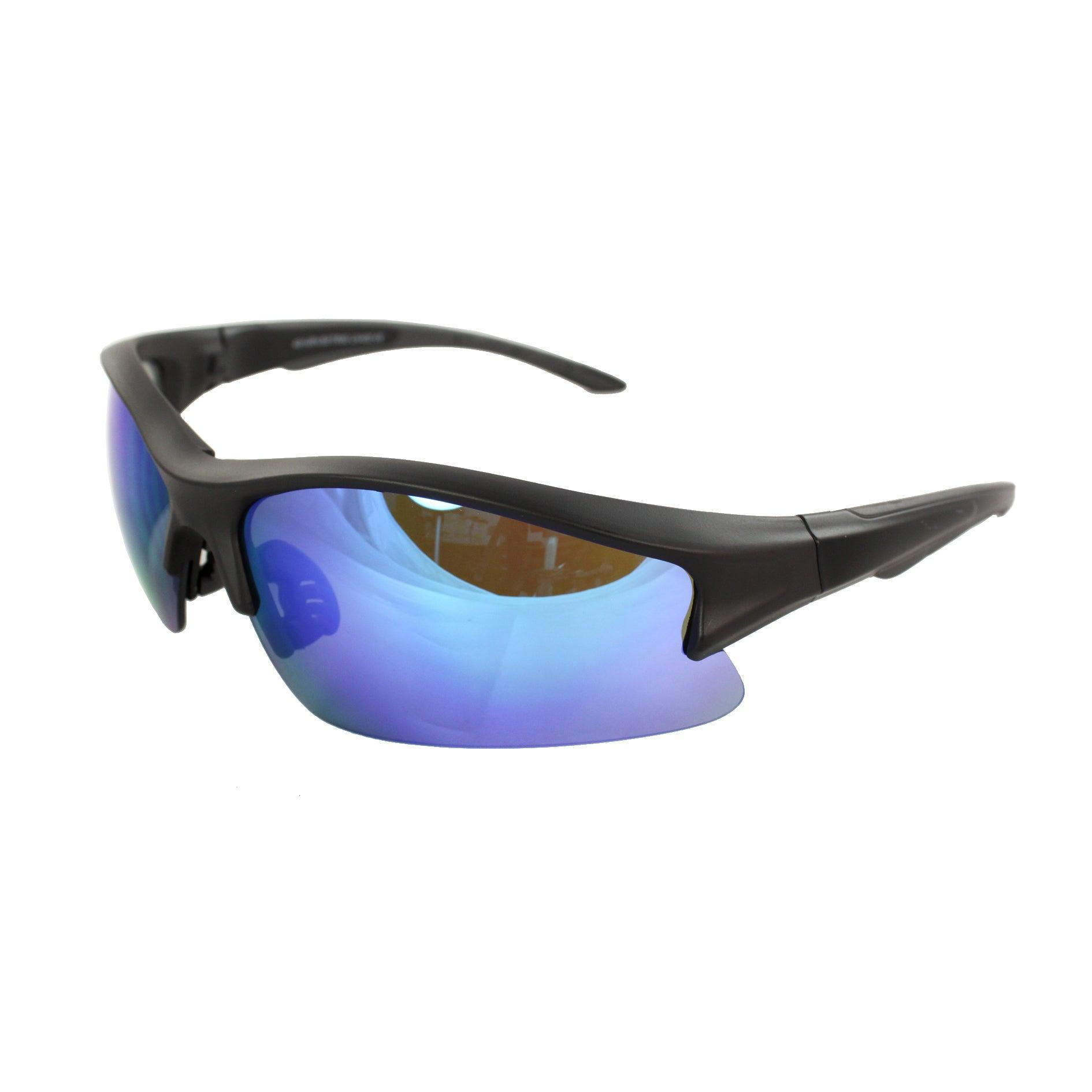 Unisex Black-rimless Sunglasses