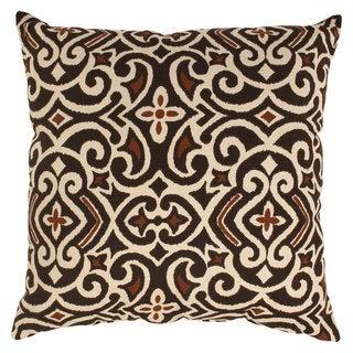 Damask 23-inch Throw Pillow