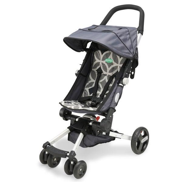 QuickSmart Easy Fold Stroller in Geometric Grey