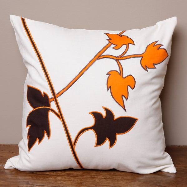 Autumn Leaf Pillow Cover (India)