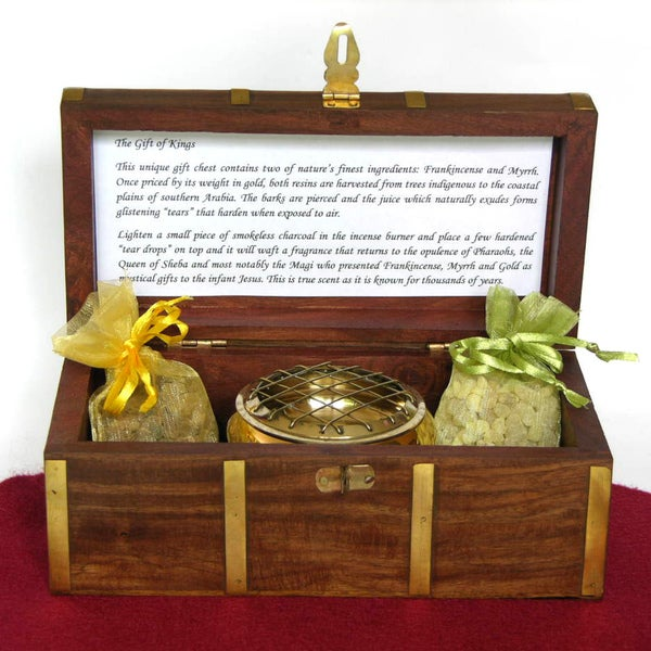 'The Gift of Kings' Gift Box Incense Set (India)