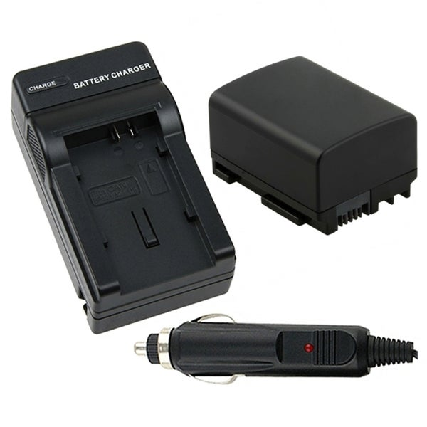 INSTEN Battery/ Chargers for Canon BP-808/ FS10/ FS100
