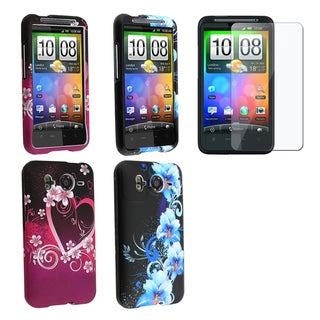 BasAcc Case Set/ Screen Protector for HTC Inspire 4G