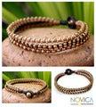 Handcrafted Brass 'Family' Bracelet (Thailand)