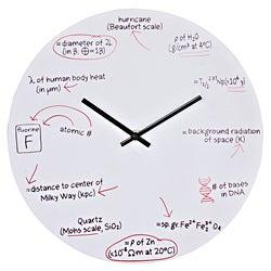 LexMod Science Quiz Wall Clock