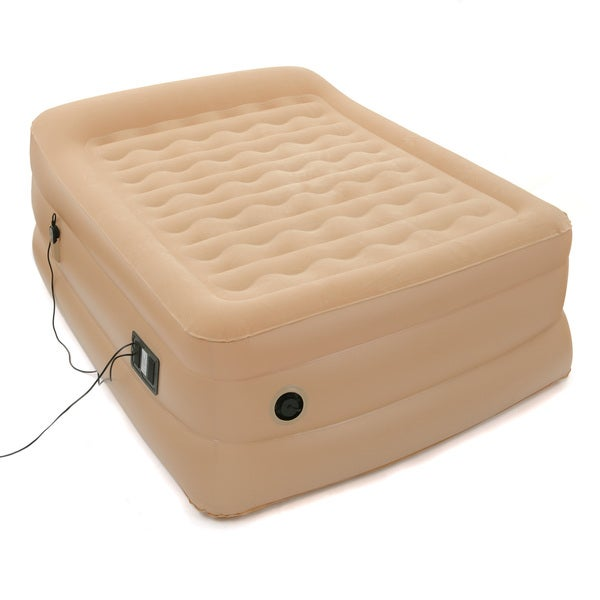 Air Cloud 25-inch Full-size Air Bed with Built-in Pillow