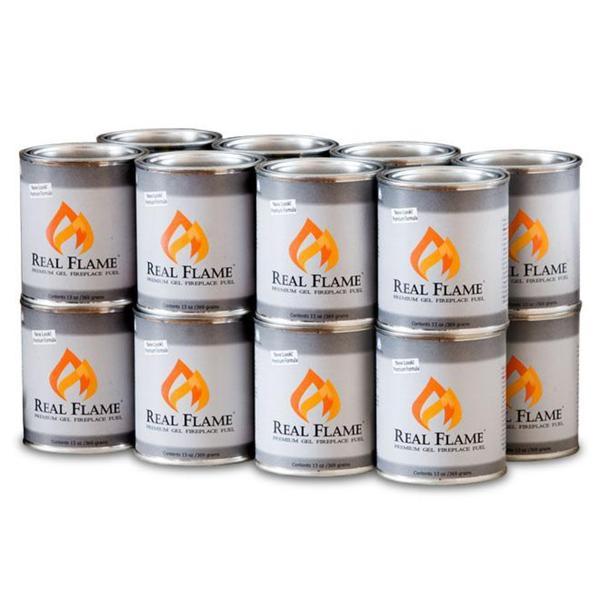 Real Flame 13-oz Gel Fuel (Case of 16)