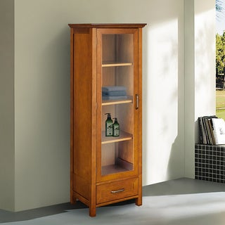 Linen Tower Bathroom Cabinets Overstock Shopping Medicine Cabinets Storage