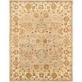 Safavieh Handmade Heritage Oushak Light Green/Beige Wool Rug (9' x 12')