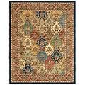 Safavieh Handmade Heritage Heirloom Multicolor Wool Rug (9' x 12')