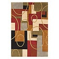 Alliyah Handmade  Multi-Color New Zealand Blend Wool Rug (9' x 12')