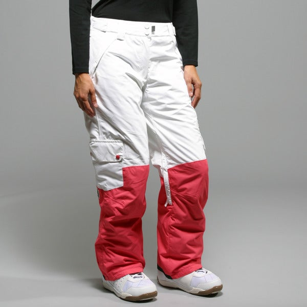 Rip Curl Women's 'S Rock Steady' White Ski Pants