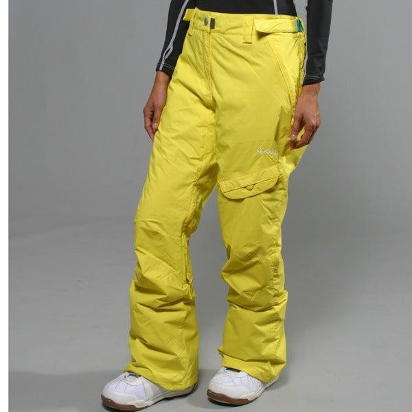 Rip Curl Women's Blazing Yellow Calypo Ski Pants