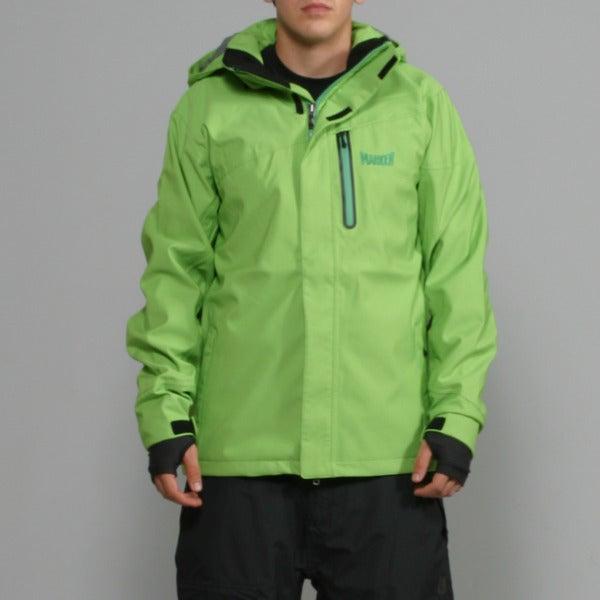 Marker Men's 'Thunder Shell' Cilantro Ski Jacket