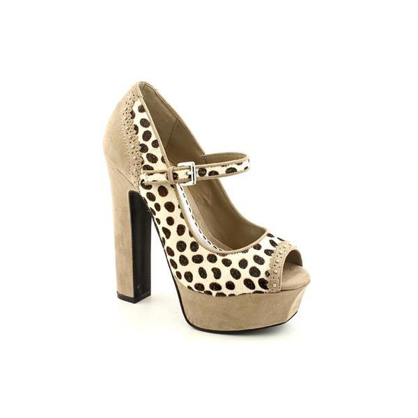 Bebe Women's 'Pennie' Hair Calf Dress Shoes
