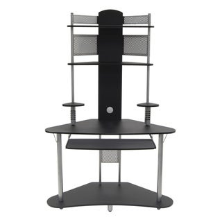 Studio Designs Silver/ Black Arch Tower