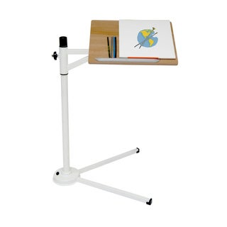 Calico Designs White/ Maple Calico Tech Stand