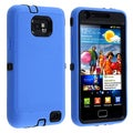 BasAcc Black/ Blue Hybrid Case for Samsung Galaxy S II/ S2 i9100
