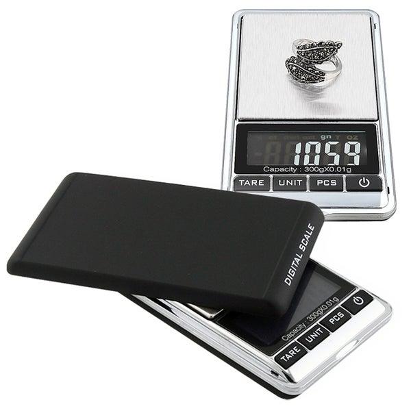 INSTEN Black/ Silver 10.5-oz Digital Pocket Scale