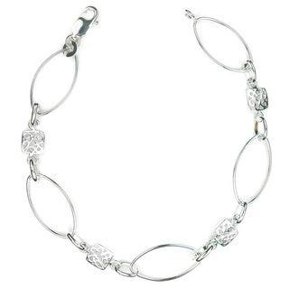 Jewelry by Dawn Oval Link Sterling Silver Bracelet