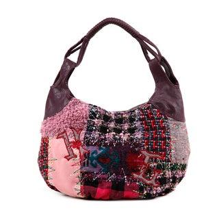 Nikky Shianne Sew Wild Patchwork Hobo Bag