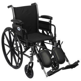 Drive Medical K320ADDA-ELR Cruiser III Lightweight Dual Axle Wheelchair