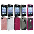 BasAcc Bling Case/ Smoke/ Pink TPU Case for Apple iPhone 4/ 4S