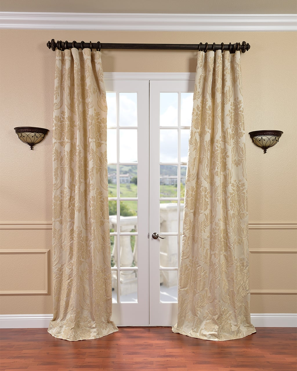 Faux Silk Curtains Overstock Shopping Stylish Drapes