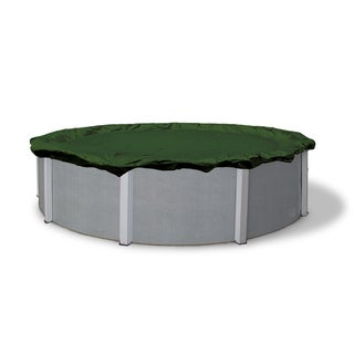 Dirt Defender Silver Series Round Above Ground Winter Pool Cover