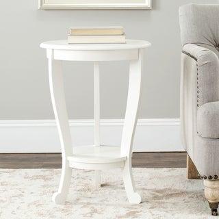 Safavieh Cape Cod Cream Pedestal Side Table