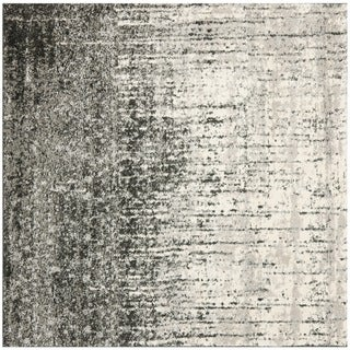 Safavieh Deco Inspired Black/ Grey Rug (6' Square)