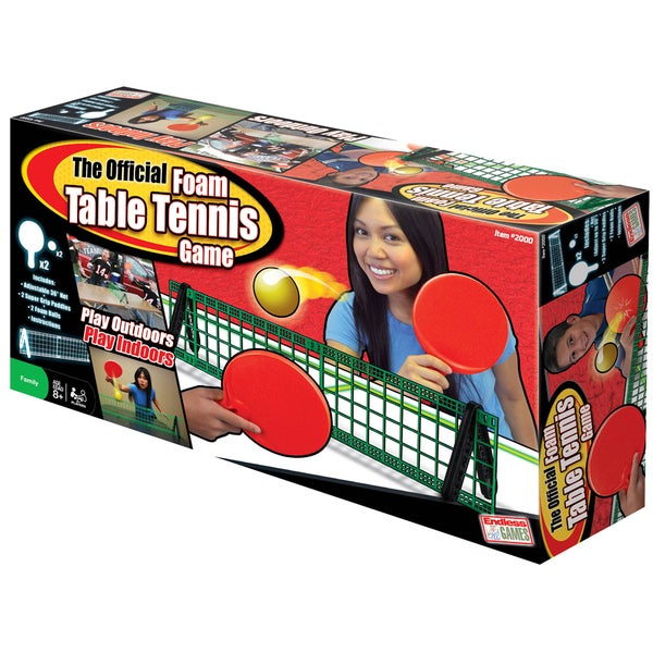 ESPN Official Foam Table Tennis Set