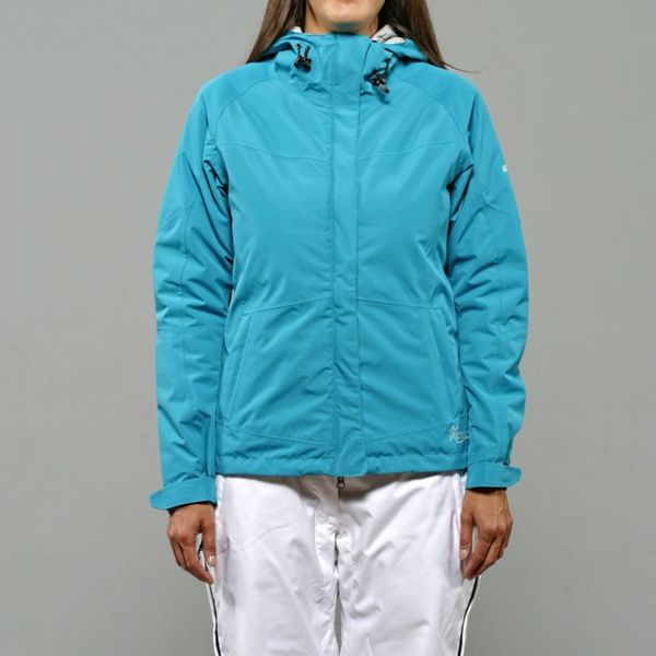 Marker Women's 'Tempest' Insulated Turquoise Ski Jacket