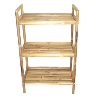 Bamboo Three-Tier Bath Shelf (Vietnam)