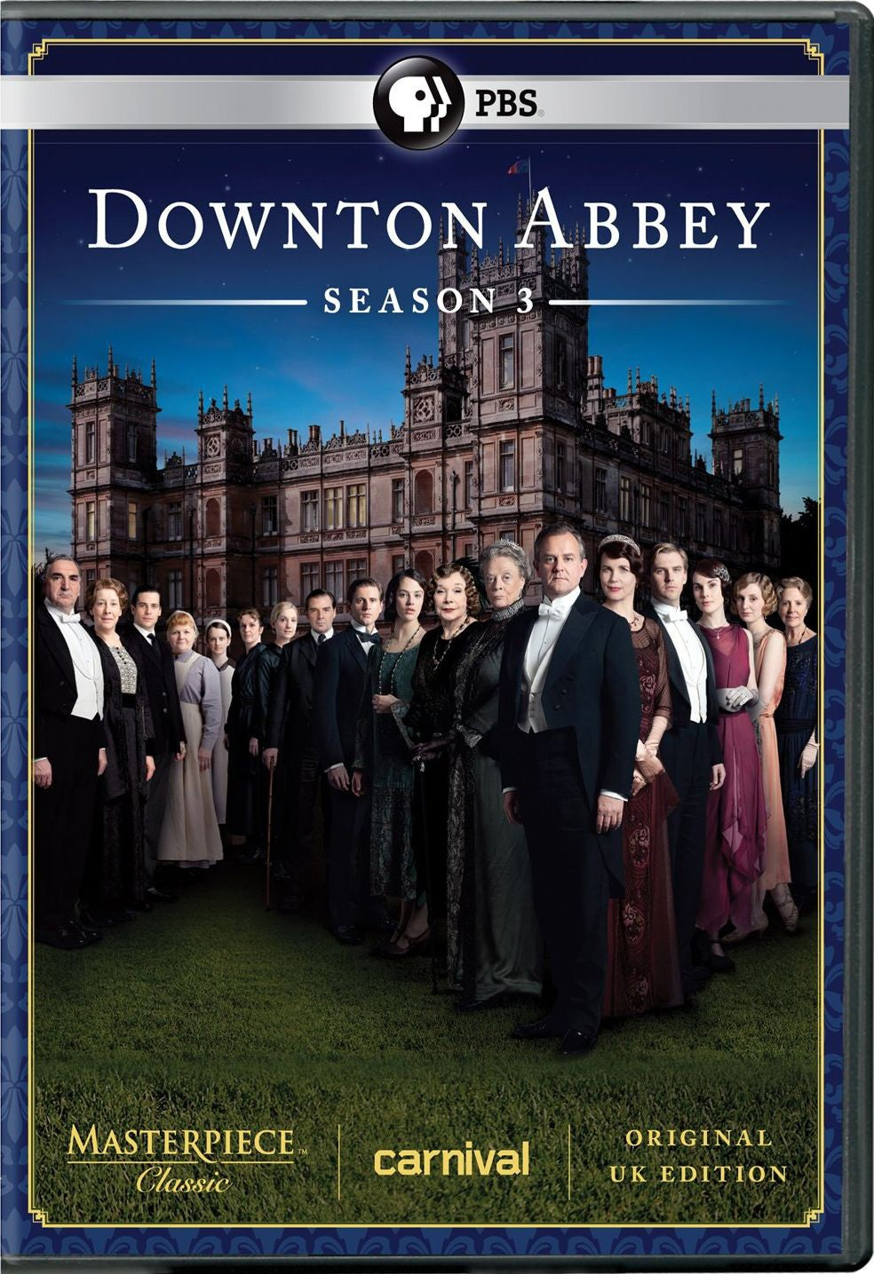 Masterpiece Classic: Downton Abbey: Season 3 (DVD)