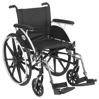 Viper Wheelchair Flip Back Desk Arm and Front Riggings