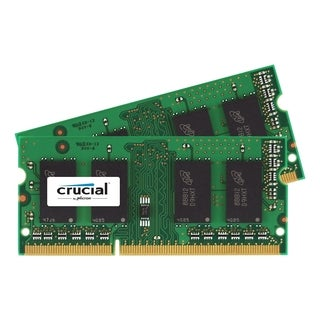Crucial 16GB Kit (8GBx2), 204-Pin SODIMM, DDR3 PC3-12800 Memory Modul