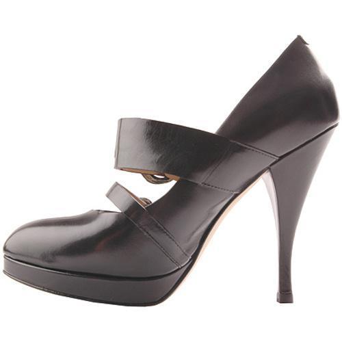 Women's Joan & David Jacopa Black Leather