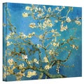 VanGogh 'Blossoming Almond Tree' Wrapped Canvas