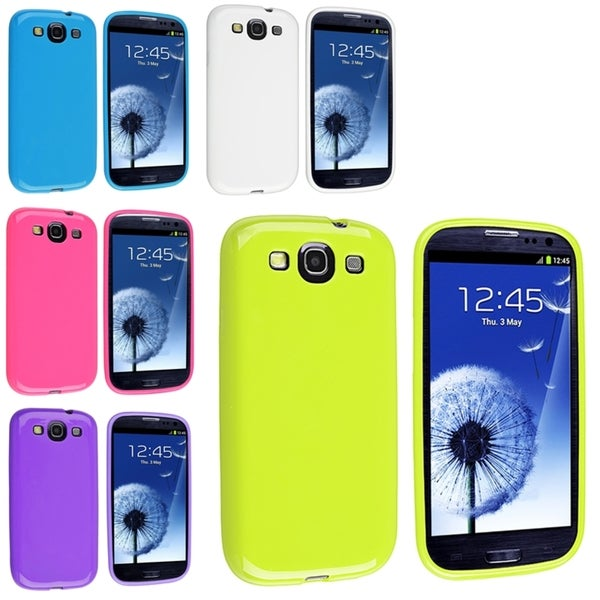 BasAcc TPU Rubber Case for Samsung Galaxy S3/ III
