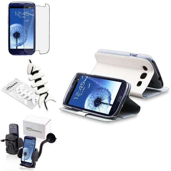INSTEN Case Cover/ Protector/ Car Mount/ Wrap for Samsung Galaxy S III/ S3