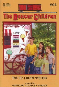 The Ice Cream Mystery (Paperback)