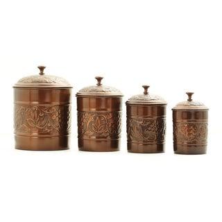 Old Dutch 'Heritage' Antique 4-piece Canister Set