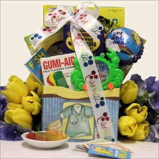 For Life's Boo Boos Kid's Get Well Gift Basket